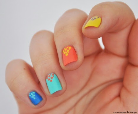sweet aimees knit pickin: 10 cute easy spring manicures