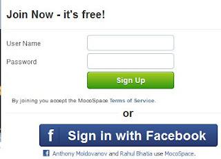 Mocospace login