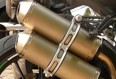 Fungsi Knalpot Sepeda Motor Yang Tidak Kalah Penting