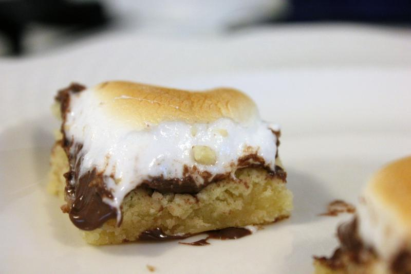 Toasted Marshmallow Squares by freshfromthe.com