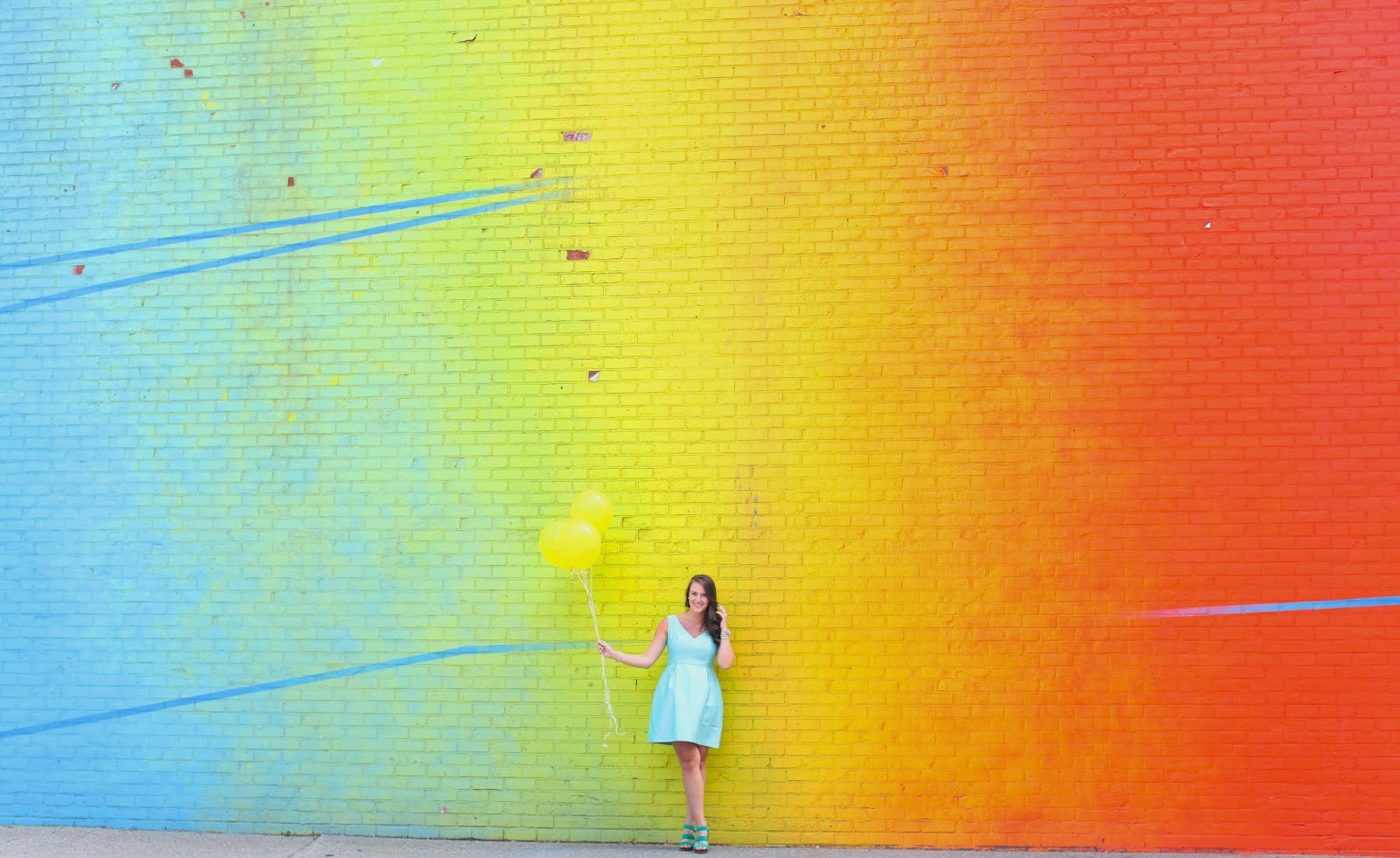 Rainbow Wall Brooklyn