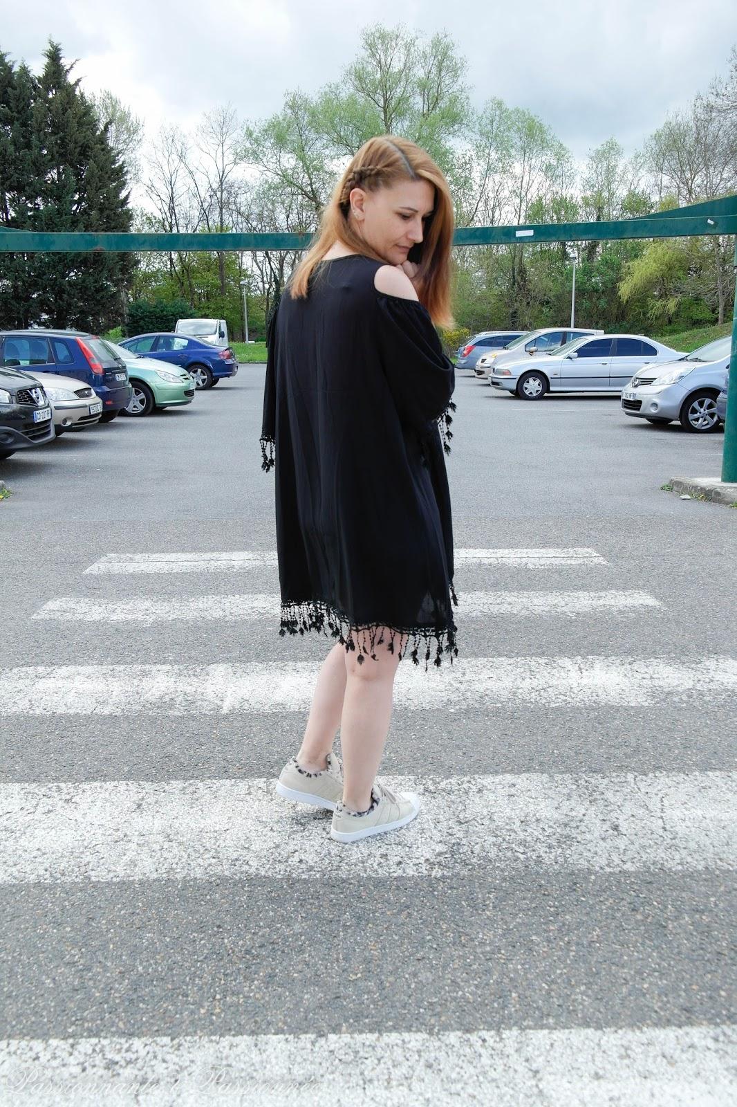 robe de plage à frange