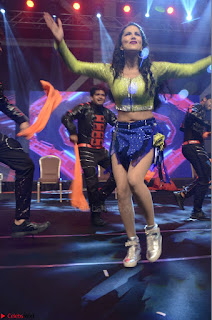Sunny Leone Dancing on stage At Rogue Movie Audio Music Launch ~  020.JPG