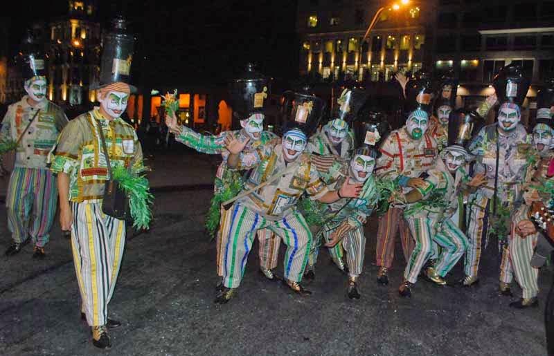 Desfile Inaugural del Carnaval. 2015. Diablos Verdes.