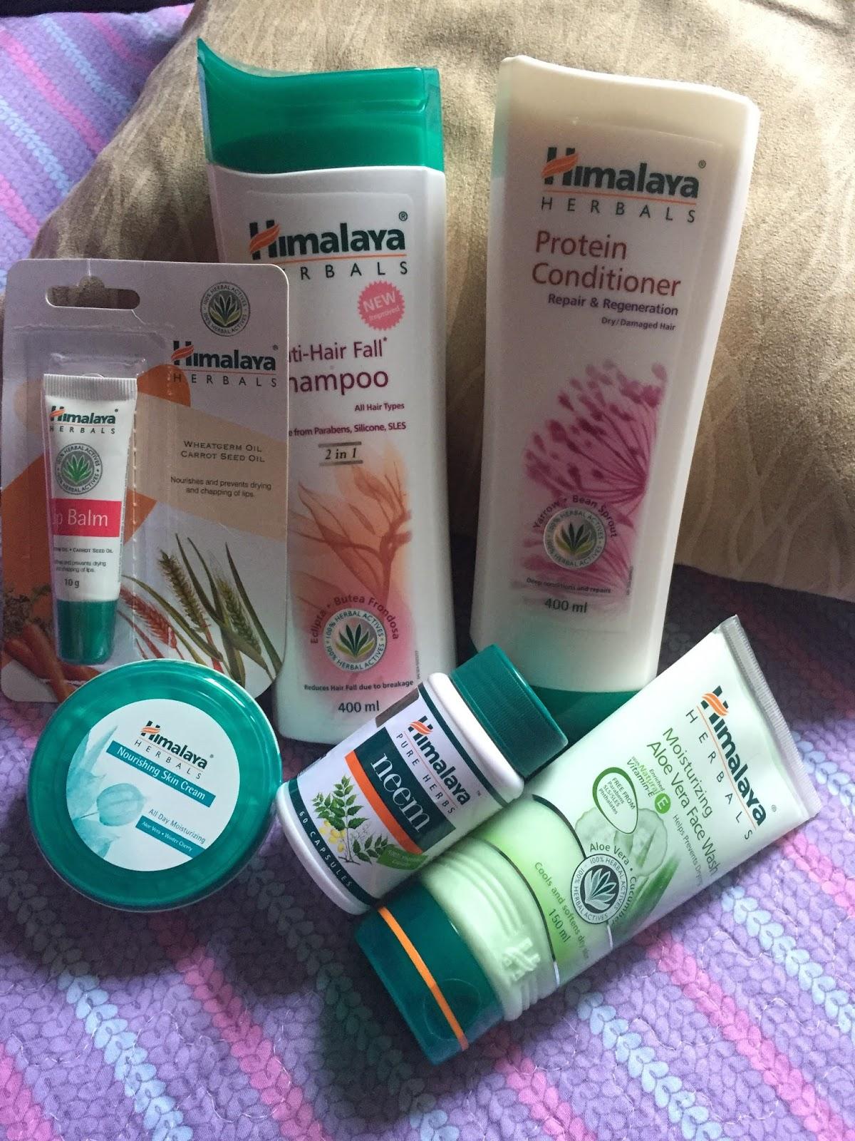 produk himalaya, nourishing cream, syampu anti hair fall, atasi masalah keguguran rambut
