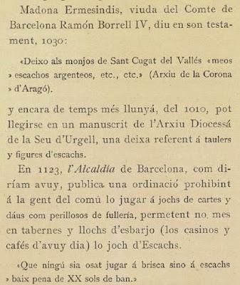 Libro de Pin i Soler sobre problemas de ajedrez, página 18