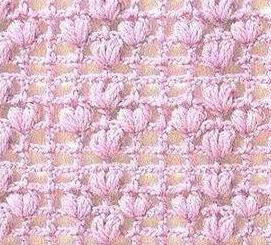 Patrón 899 Punto Calado a Crochet