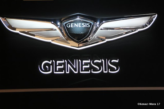 Adventures With The Genesis G90 Luxury Sedan at The Chicago Auto Show