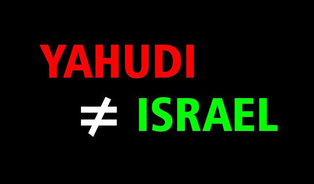 Ternyata Yahudi Bukan Israel Jangan Sebut Mereka Israel