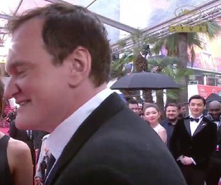 Hu Ge Quentin Tarantino fan