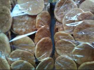 Makanan Tradisional Opak Ketan Sunda