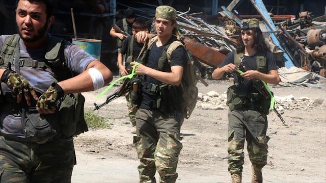 Rebeldes crean nueva alianza para frenar avance del Ejército sirio