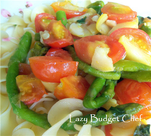 Asparagus and Tomato Stir Fry Recipe