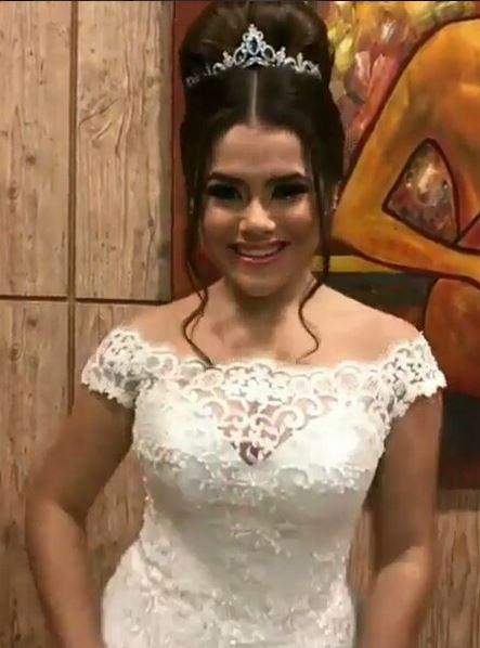 Maisa Silva penteado de debutante