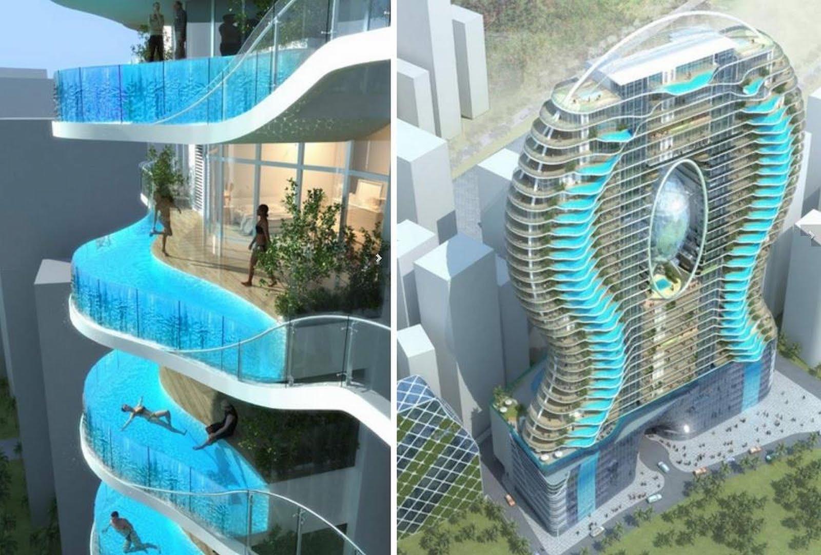 Las fotos mas alucinantes balcones vs piscinas - Fotos de piscinas ...