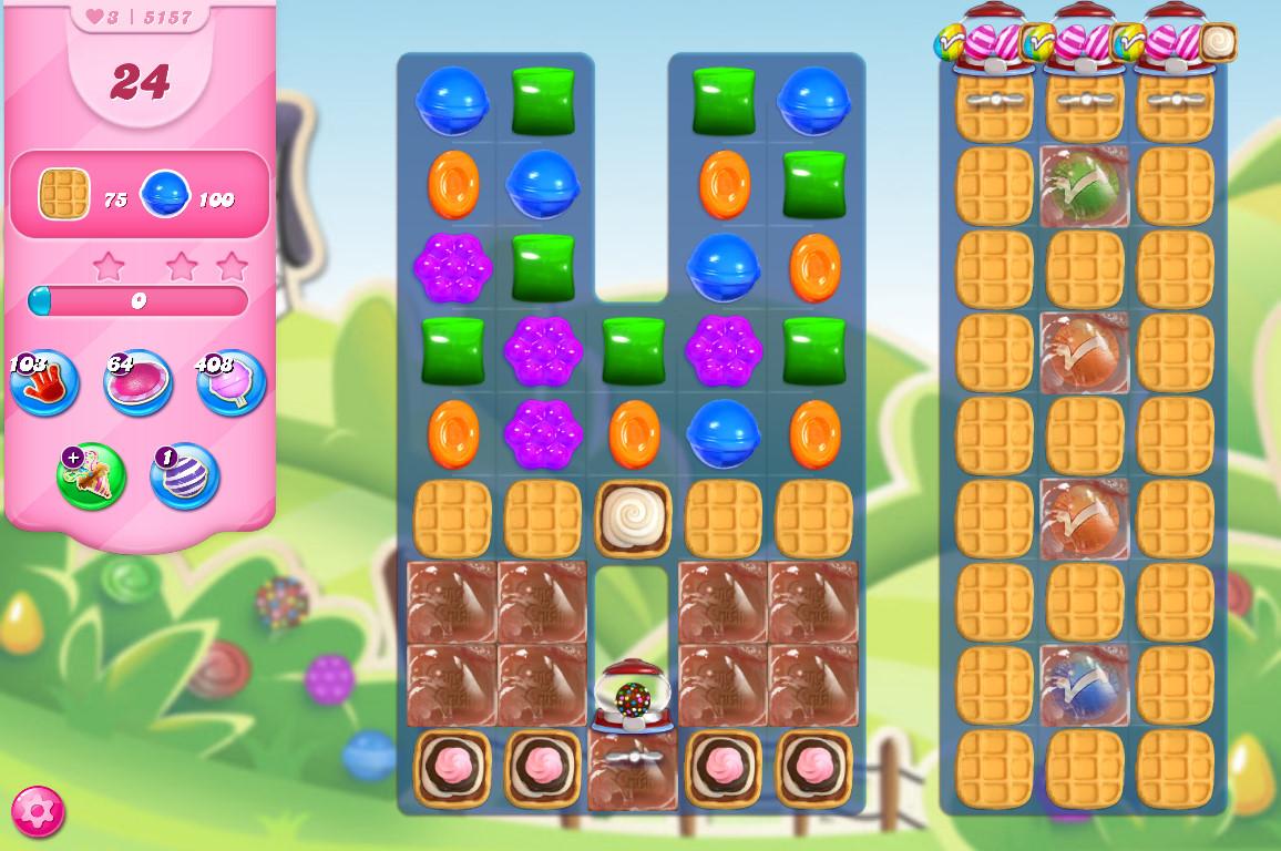 Candy Crush Saga level 5157
