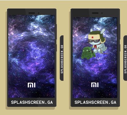 Splashscreen Mi Galaxy Xiaomi Redmi 2 / 3