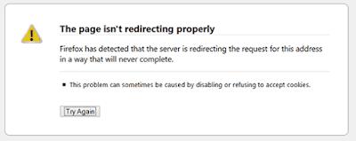 Cara Mengatasi Kesalahan Terlalu Banyak Pengalihan di Browser Firefox
