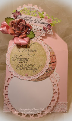 Our Daily Bread Designs, Blossom, Happy Birthday, Mom, Blushing Rose 6x6 paper collection