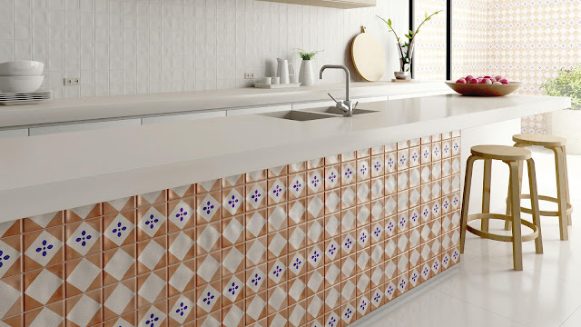 Tiles decoration ideas of ALFAR series