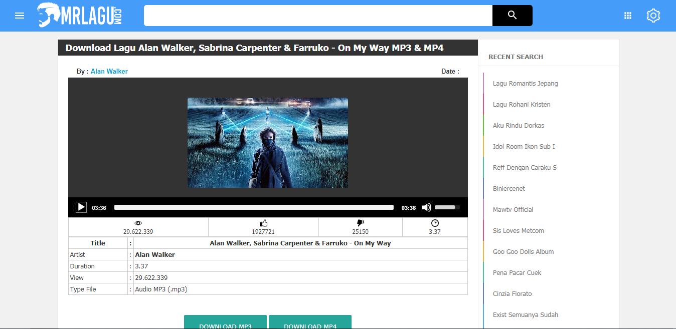Website Download Lagu MP3 Terbaik Saat Ini