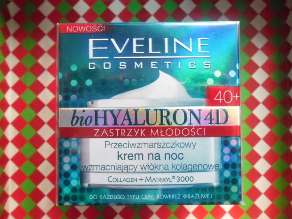 Eveline przeciwzmarszczkowy krem na noc wzmacniający włókna kolagenowe