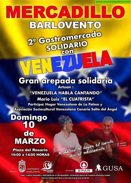 Mercadillo de Barlovento 2 Gastromercado Solidario con Venezuela