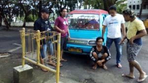Pelaku Penggelapan Mobil Mikrolet Berhasil di Bekuk Polres Minsel