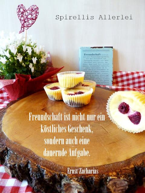 Spirellis Allerlei - Käsekuchen Muffins mit Frucht