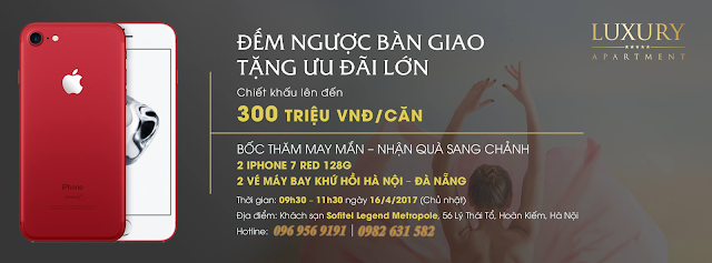 Chính sách ưu đãi đặc biệt của Luxury Apartment Đà Nẵng