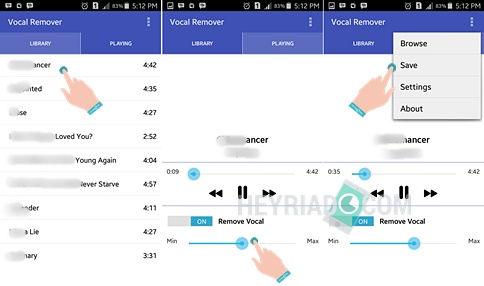 Cara Menghilangkan Suara Vokal Lagu MP3 di Android