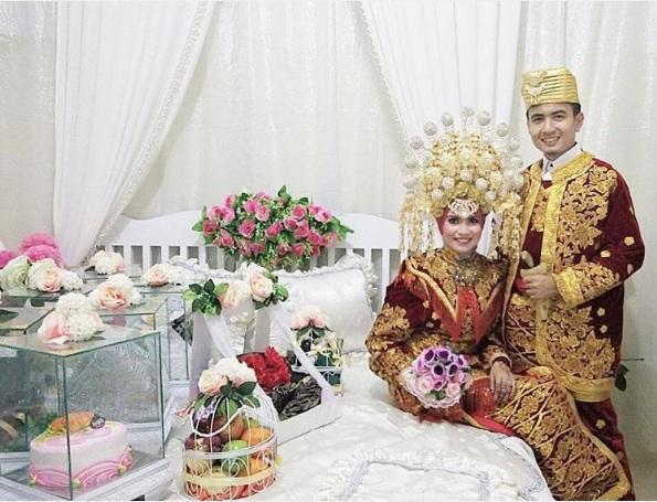 foto pernikahan andre dan rahmi