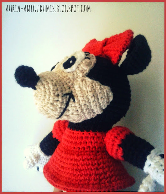 Minnie Mouse  | Auria Amigurumis