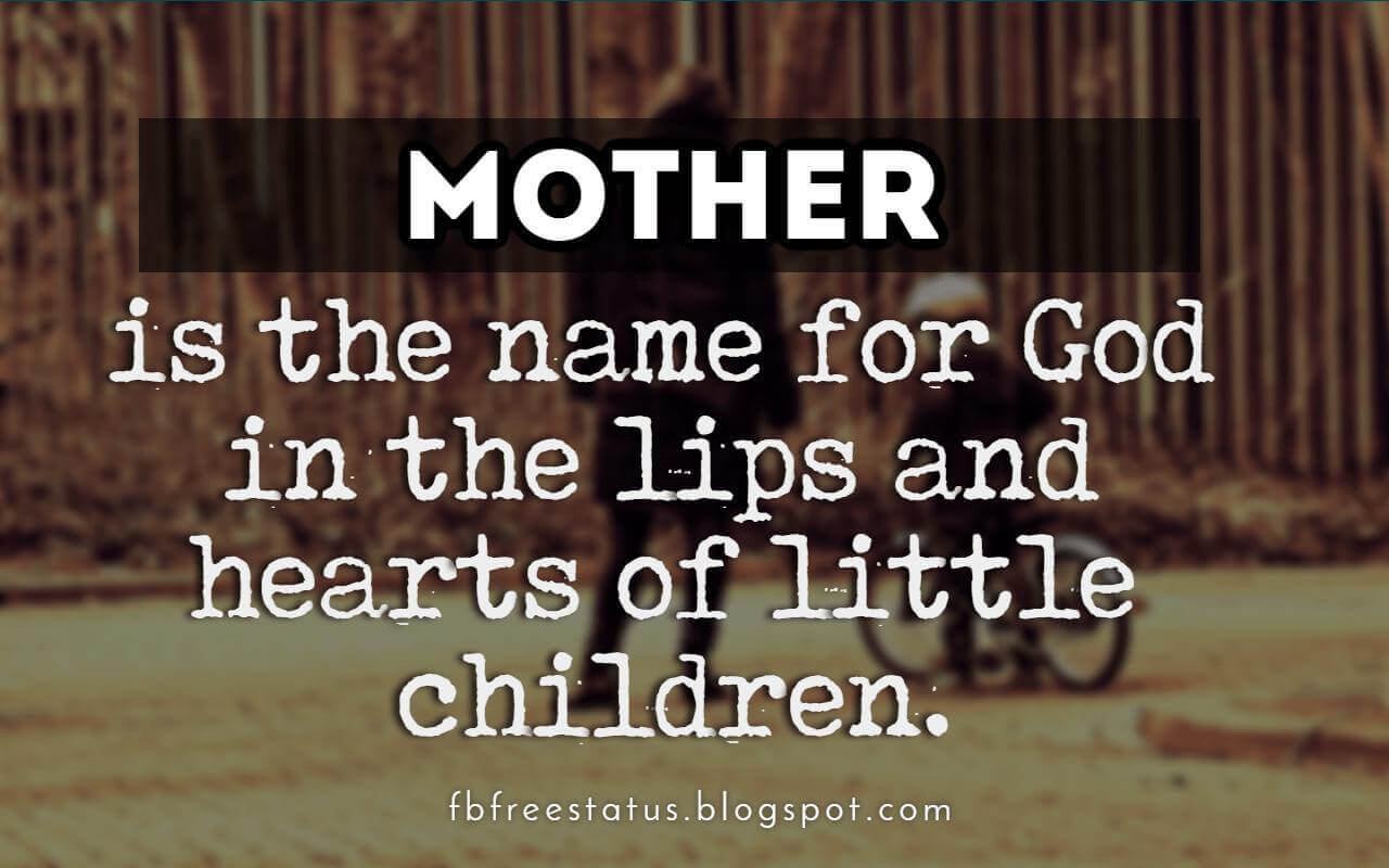 Happy Mother's Day Quotes, Messages, Images & Pictures