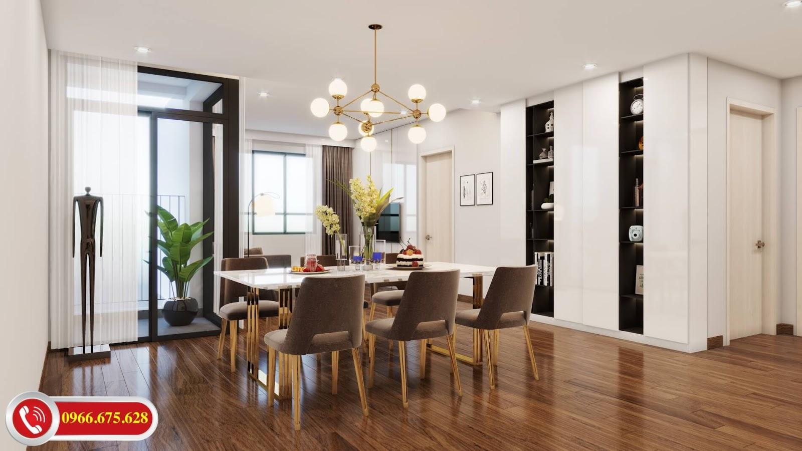 Phòng căn hộ A4 dự án Amber Riverside