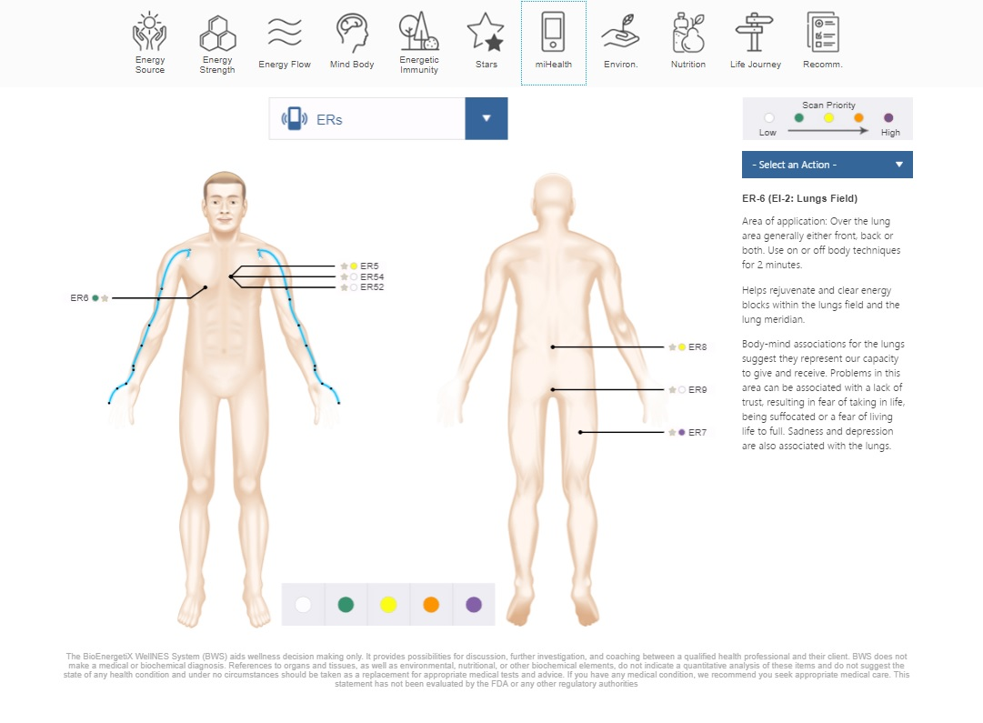 Hands On Healthy: NES Health Scan Lungs and Emotions