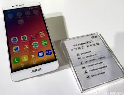 Asus Zenfone Pegasus 3 android 4G LTE