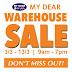 3 - 13 March 2016 My Dear Warehouse Sale   Jualan Gudang  仓库销售