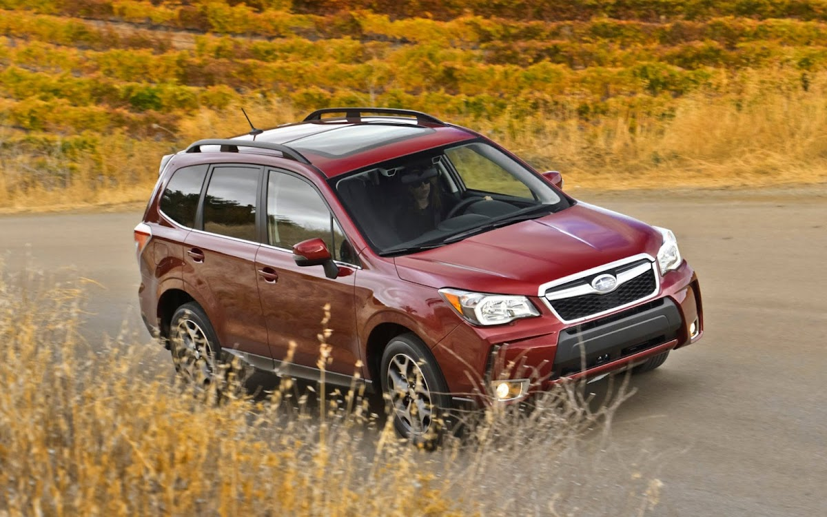 2014 Subaru Forester Widescreen HD Wallpaper