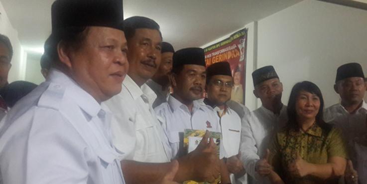 Pelantikan pengurus Badan Pemenangan Pemilu Kapala Daerah (BAPPDA).