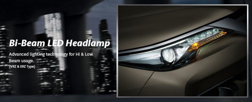 Bi-Beam LED Headlamp