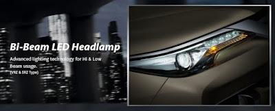 Bi-Beam LED Headlamp