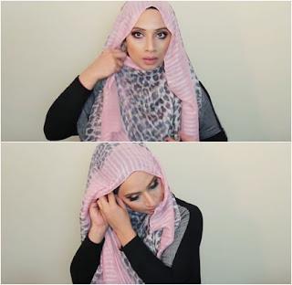 Tutorial hijab pashmina perempuan berkacamata Tutorial Hijab Pashmina Wanita Berkacamata
