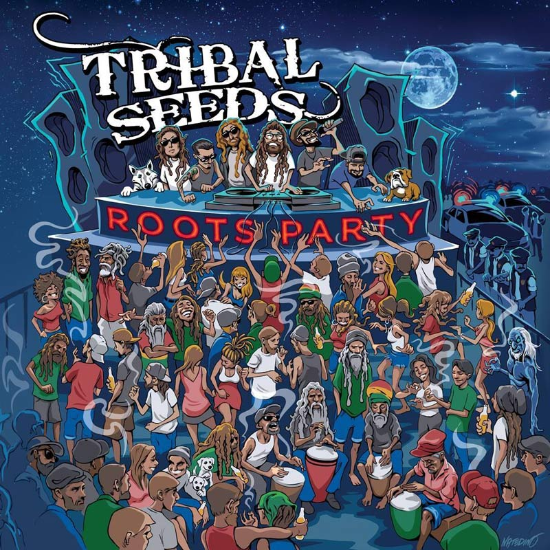 Tribal Seeds - Roots Party EP (2017) - Rasta Reggae Sounds