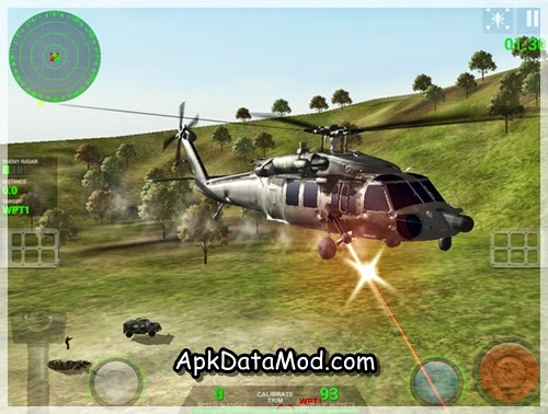 Helicopter Sim Pro helicopter shooting