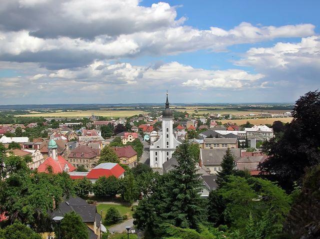 panorama miasta, Czechy, atrakcje, czeskie miasta