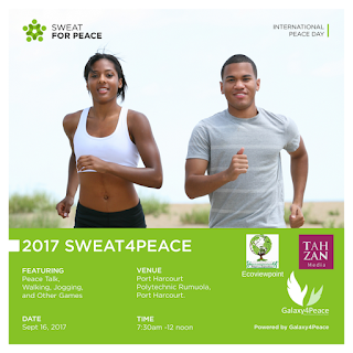 Combating Violence in Nigeria: Groups Organize #Sweat4Peace2017 for Youths