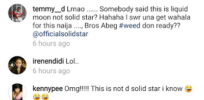 Screenshot_20160726-230545 Solidstar Gets Mocked By Fans After He Shared A Painting Of Himself Made By An Artist (Photo) Entertainment news