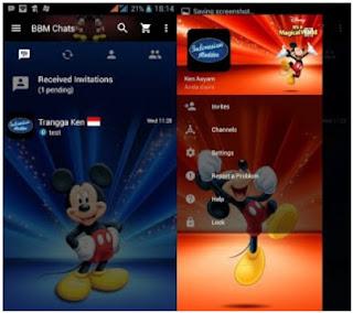 BBM Mod Micky Mouse