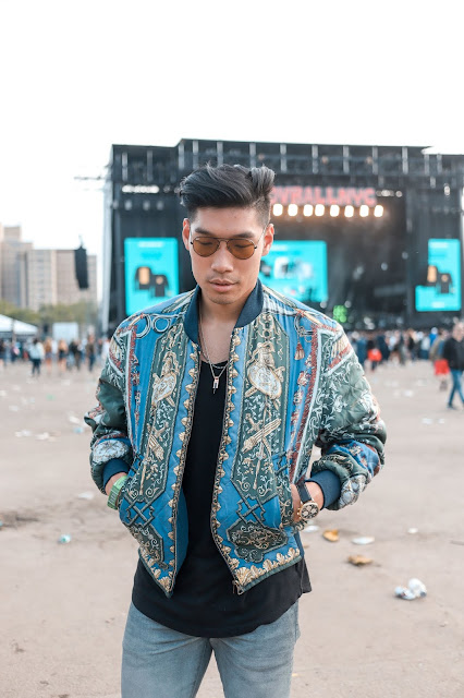 Leo Chan wearing Vintage Hermes from What Come Around Goes Around